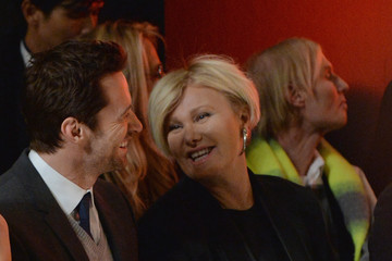 Deborra-Lee Furness Front Row at the Donna Karan Show
