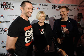 Deborra-Lee Furness 2014 Global Citizen Festival In Central Park To End Extreme Poverty By 2030 - VIP Lounge