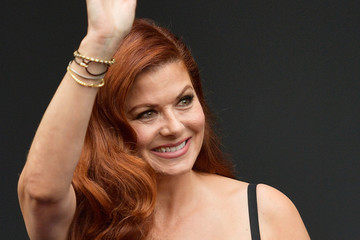Debra Messing 'Will & Grace' Ribbon Cutting Ceremony