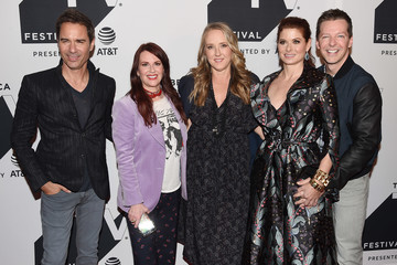 Debra Messing Eric McCormack Tribeca TV Festival Exclusive Celebration for 'Will & Grace'