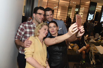 Debra Messing Cadillac Celebrates the Grand Opening of 'Cadillac House - New York'