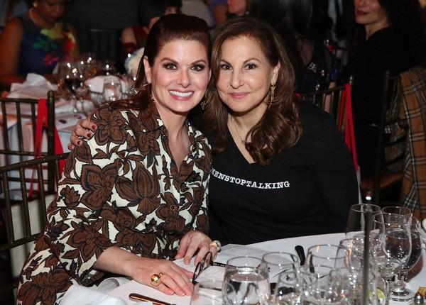Ms. Foundation For Women's Annual Gloria Awards [ms. foundation for womens annual gloria awards,lady,event,fashion,friendship,dinner,party,meal,lunch,restaurant,supper,new york city,capitale,kathy najimy,debra messing]