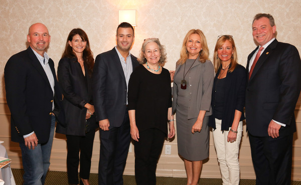 Hamptons Local Business Seminar 2015 [social group,event,team,tourism,keith davis,debra haplert,tracy mitchell,dede gotthelf,anna throne-holst,michael capace,kevin o,l-r,hamptons local business seminar,southampton inn]