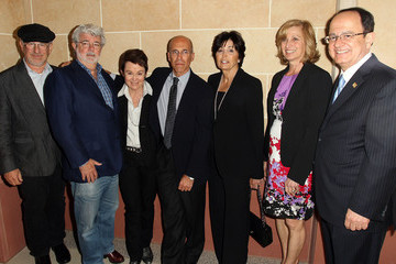 Niki Nikias Dedication Of The Marilyn And Jeffrey Katzenberg Center For Animation At USC School Of Cinematic Arts