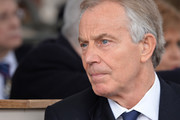 Tony Blair during the dedication and unveiling of The Iraq and Afghanistan memorial on March 9, 2017 in London, England.