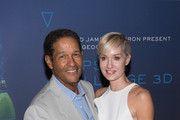 Bryant Gumbel and Hilary Quinlan arrive at the 'Deepsea Challenge 3D' New York Premiere  at the American Museum of Natural History on August 4, 2014 in New York City.