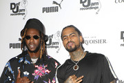 2 Chainz (L) and Dave East attend The Def Jam Recordings BETX celebration at Spring Place Beverly Hills in partnership with Puma, Courvoisier, Beats, and Heineken on June 22, 2019 in Beverly Hills, California.