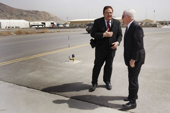 US Defence Secretary Robert Gates Visits Afghanistan
