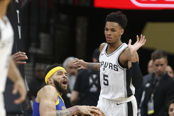 Dejounte Murray Golden State Warriors Vs. San Antonio Spurs - Game Three