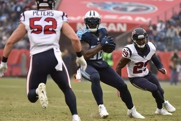 Delanie Walker Houston Texans v Tennessee Titans