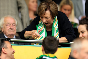Delia Smith Norwich City v Rotherham United - Sky Bet Championship
