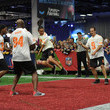 Demarcus Ware Nickelodeon at the Super Bowl Experience - Superstar Slime Showdown Taping