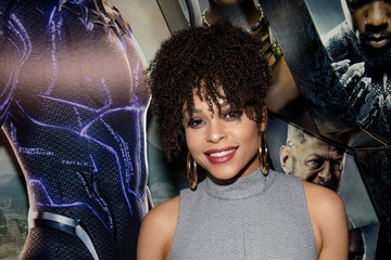 Demetria McKinney Marvel Studios Black Panther Advance Screening Hosted by Walmart and T.I.