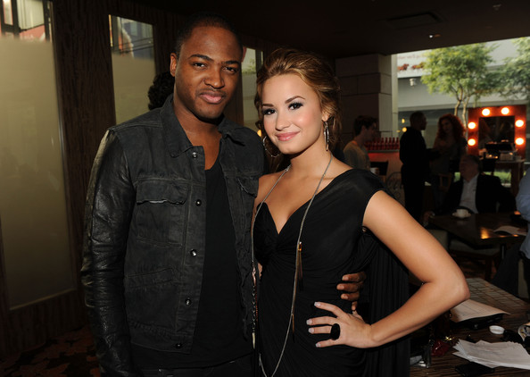 Demi Lovato Recording artists Taio Cruz (L) and Demi Lovato attend the 2010 American Music Awards Nominations Press Conference held at The Mixing Room at the JW Marriott Los Angeles at L.A. LIVE on October 12, 2010 in Los Angeles, California.