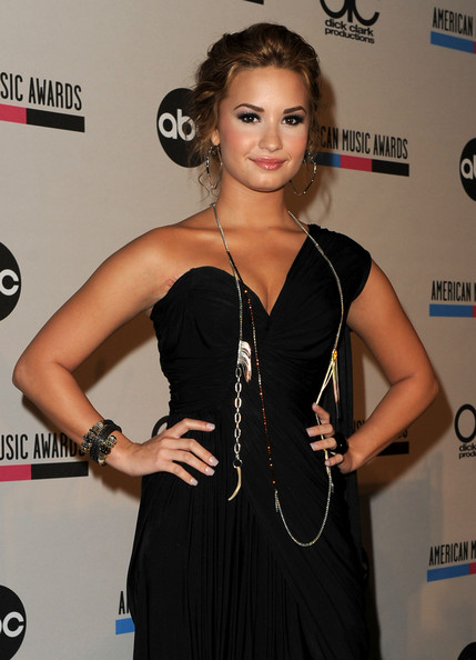 Demi Lovato Recording artist Demi Lovato attends the 2010 American Music Awards Nominations Press Conference held at The Mixing Room at the JW Marriott Los Angeles at L.A. LIVE on October 12, 2010 in Los Angeles, California.