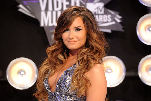 Demi Lovato Actress Demi Lovato arrives at the 2011 MTV Video Music Awards at Nokia Theatre L.A. LIVE on August 28, 2011 in Los Angeles, California.