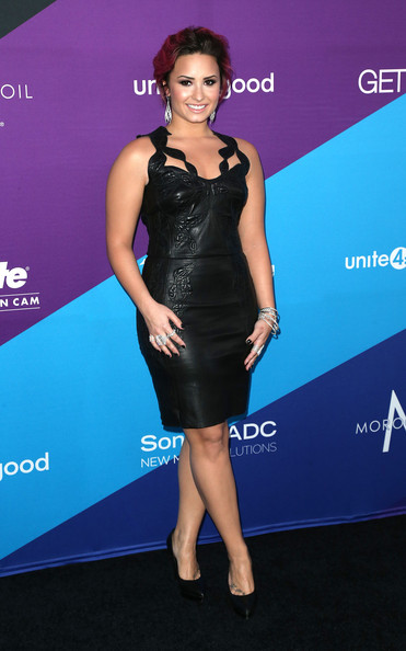 Demi Lovato - Arrivals at the unite4:humanity Event — Part 2
