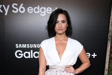 Demi Lovato Samsung Celebrates The New Galaxy S6 edge+ And Galaxy Note5 in Los Angeles