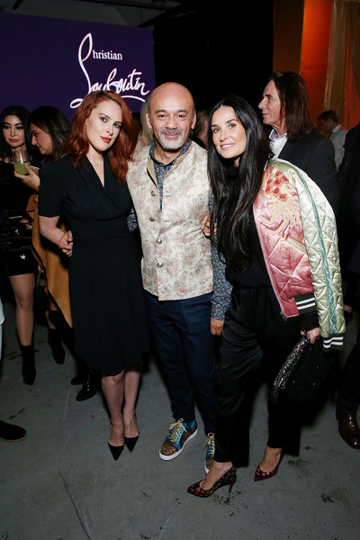 Christian Louboutin and Sabyasachi Unveil Capsule Collection at Just One Eye [event,fashion,fashion design,nightclub,little black dress,party,christian louboutin,demi moore,rumer willis,just one eye,california,los angeles,sabyasachi unveil capsule collection]