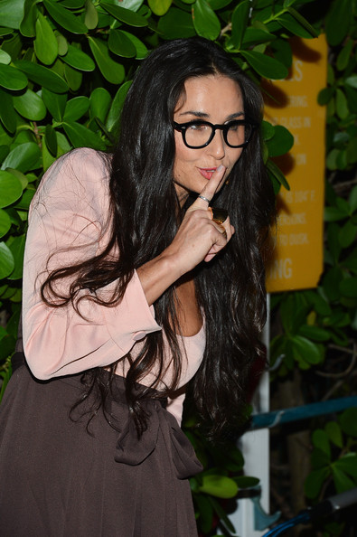 "Demi Moore - OHWOW & HTC Celebrate The Release Of ""Terrywood"" With Terry Richardson"