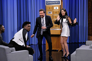 Demi Moore Demi Moore Visits 'The Tonight Show Starring Jimmy Fallon'