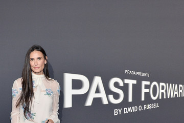 Demi Moore Prada Presents 'Past Forward' by David O. Russell - Los Angeles Premiere