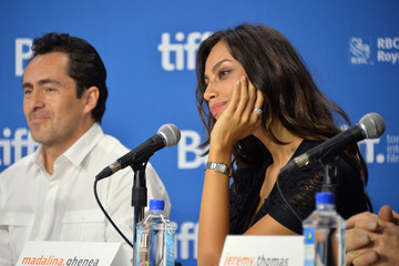 Demian Bichir Madalina Ghenea 'Dom Hemingway' Press Conference in Toronto