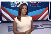 In this screenshot from the DNCC's livestream of the 2020 Democratic National Convention, actress and activist Eva Longoria addresses the virtual convention on August 17, 2020.  The convention, which was once expected to draw 50,000 people to the Milwaukee, Wisconsin, is now taking place virtually due to the coronavirus pandemic.