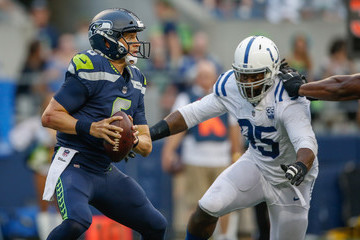 Denico Autry Indianapolis Colts v Seattle Seahawks