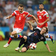 Denis Cheryshev Russia v Croatia: Quarter Final - 2018 FIFA World Cup Russia