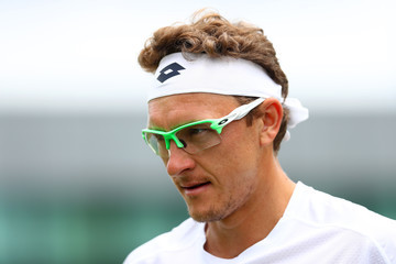Denis Istomin Day One: The Championships - Wimbledon 2017