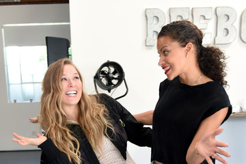 Denise Vasi Ronda Rousey Hosts Reebok Women's Luncheon