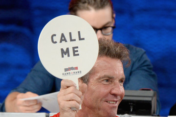 Dennis Quaid Hand in Hand: A Benefit for Hurricane Relief - Los Angeles