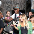 Dennis Rodman Kevin Hart And The Plastic Cup Boyz Hosts A Special Edition Of SiriusXM's Straight From The Hart Live From The W Hotel South Beach In Miami