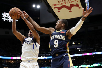 Dennis Smith Dallas Mavericks v New Orleans Pelicans