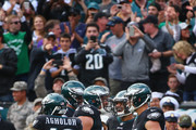 Nelson Agholor Carson Wentz Photos Photo