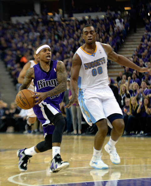 Isaiah Thomas In Denver Nuggets V Sacramento Kings