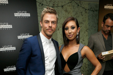 Derek Hough Green Room at the Young Hollywood Awards
