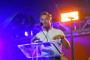 Derek Hough 27th Annual Race To Erase MS: Drive-In To Erase MS