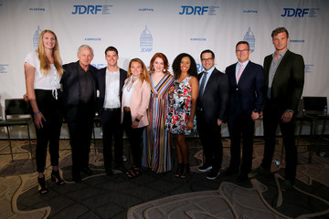 Derek Theler More Than 160 Youth Delegates With Type 1 One Diabetes (T1D) And Celebrity Role Models Participate In JDRF 2019 Children's Congress In Washington, DC.