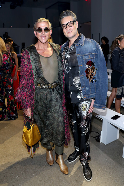 Nicole Miller - Front Row - September 2019 - New York Fashion Week: The Shows [shows,eyewear,fashion,clothing,fashion design,sunglasses,event,fashion model,fashion show,street fashion,haute couture,nicole miller,cameron silver,derek warburton,the shows at gallery ii,front row,new york city,l,spring studios,new york fashion week]