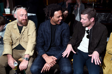 Dermot O'Leary Charlie Casely-Hayford At Men's Fashion Week