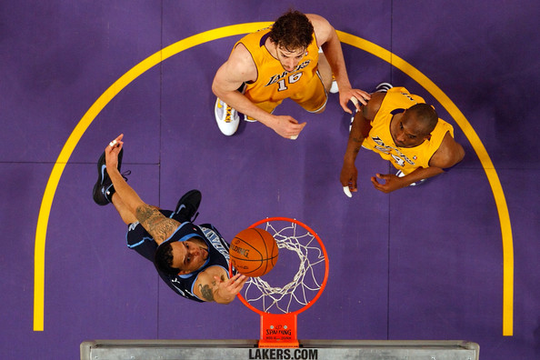Utah Jazz v Los Angeles Lakers - Game Two