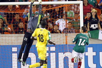Derrick Carter Guyana v Mexico - World Cup Qualifier