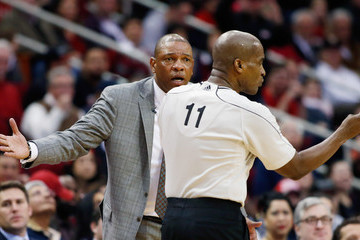 Derrick Collins Los Angeles Clippers v Houston Rockets