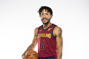 Derrick Rose Cleveland Cavaliers Media Day