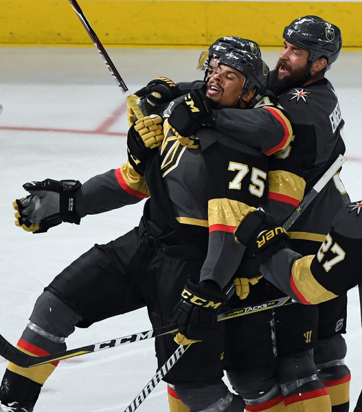 official photos 266aa 55202 Deryk Engelland Ryan Reaves Photos - 2018 NHL Stanley Cup ...