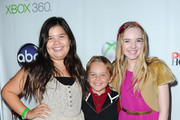 """Actors Madison De La Garza, Mason Vale Cotton and Darcy Rose Byrnes arrive to the Series Finale of ABC's """"Desperate Housewives"""" at W Hollywood on April 29, 2012 in Hollywood, California."""