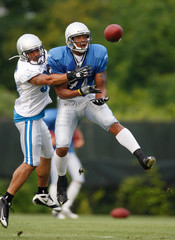 Chris Roberson Detroit Lions Training Camp
