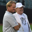 Jon Gruden Mark Davis Photos